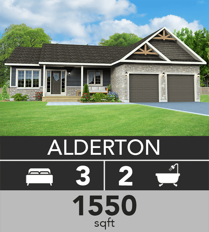 Alderton model 1550 sqft