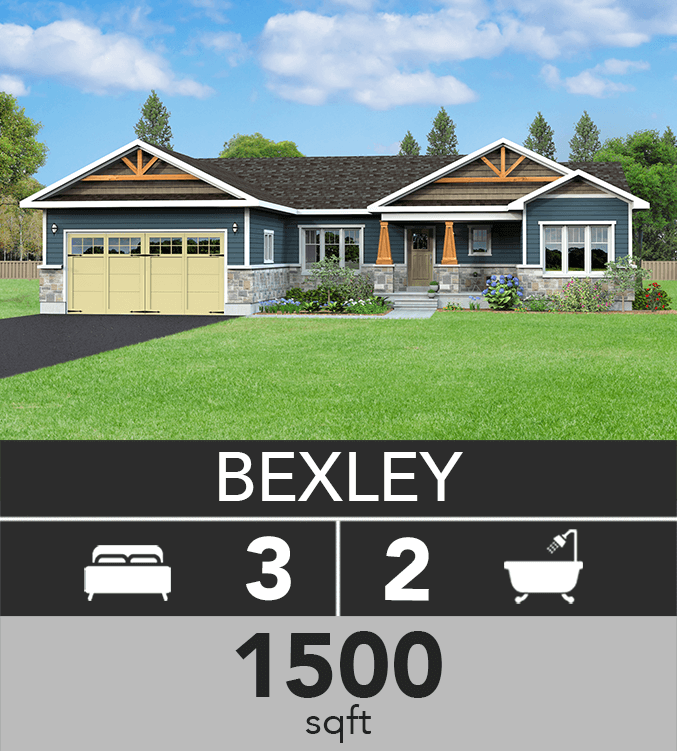 Bexley model 1500 sqft