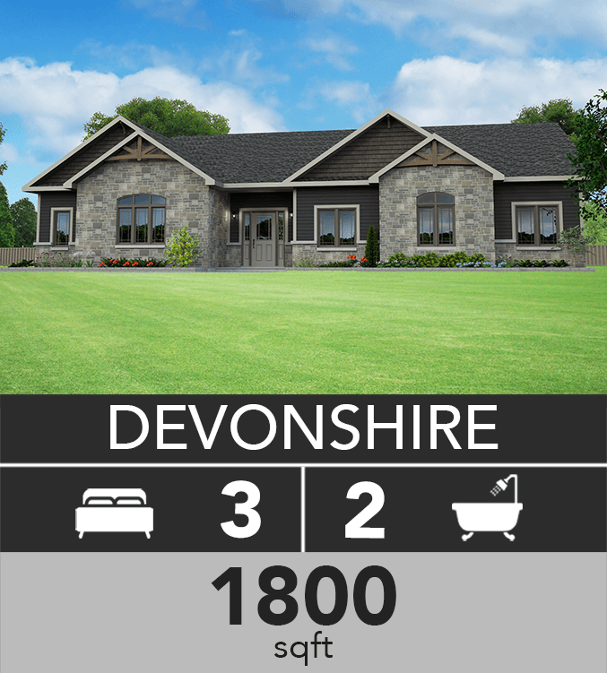 Devonshire model 1800 sqft