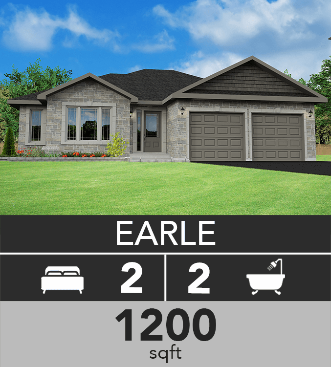 Earle model 1200 sqft