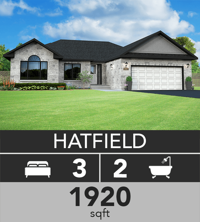 Hatfield model 1920 sqft