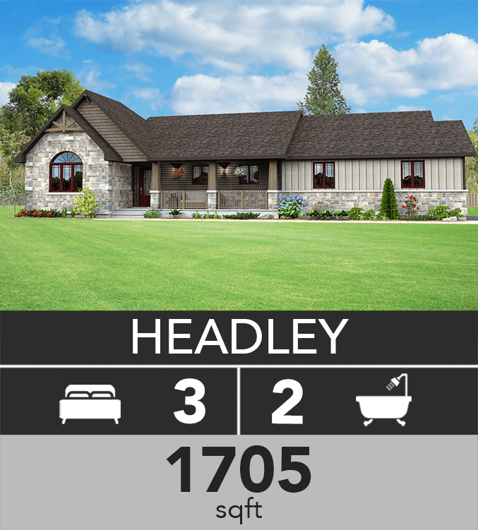 Headley model 1705 sqft