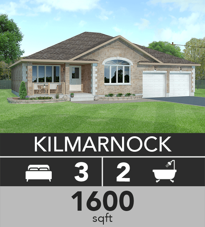 Kilmarnock model 1600 sqft